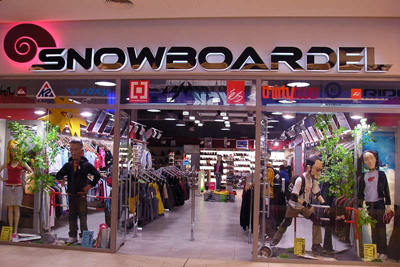 snowboardel