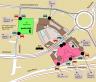 mapa centrum Chodov