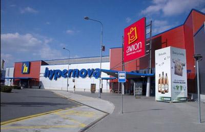 9f61662a72 Avion Shopping Park Ostrava Nákupní centra